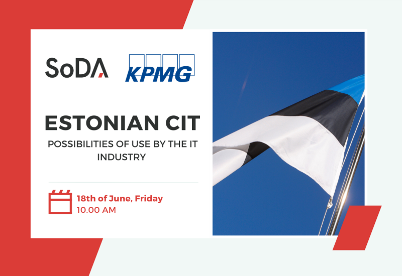 Estonian CIT - possibilities of use by the IT industry