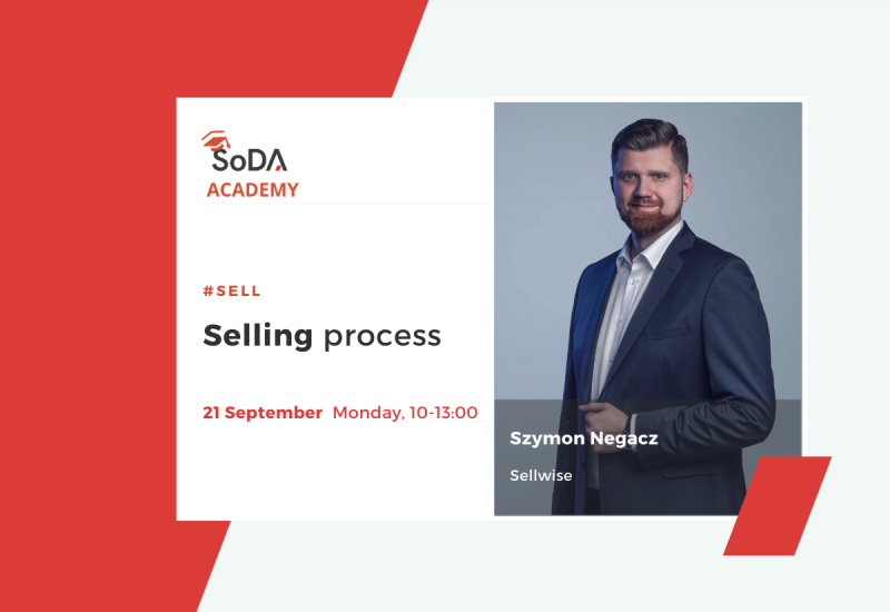 SoDA Academy Sales - Selling Process