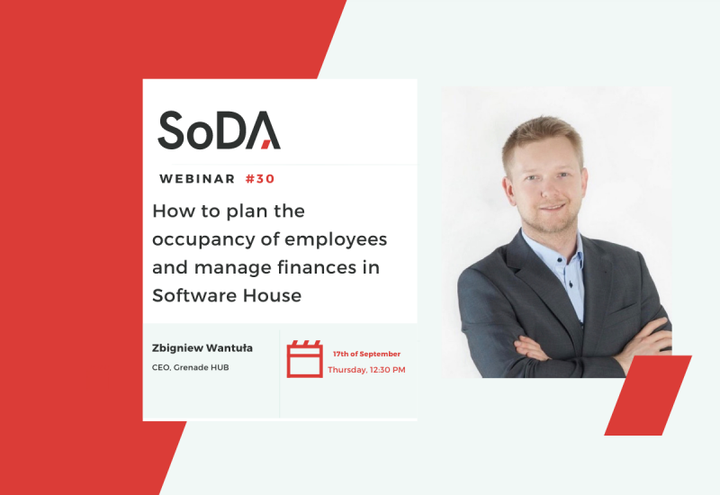 How to plan the occupancy of employees and manage finances in Software House?