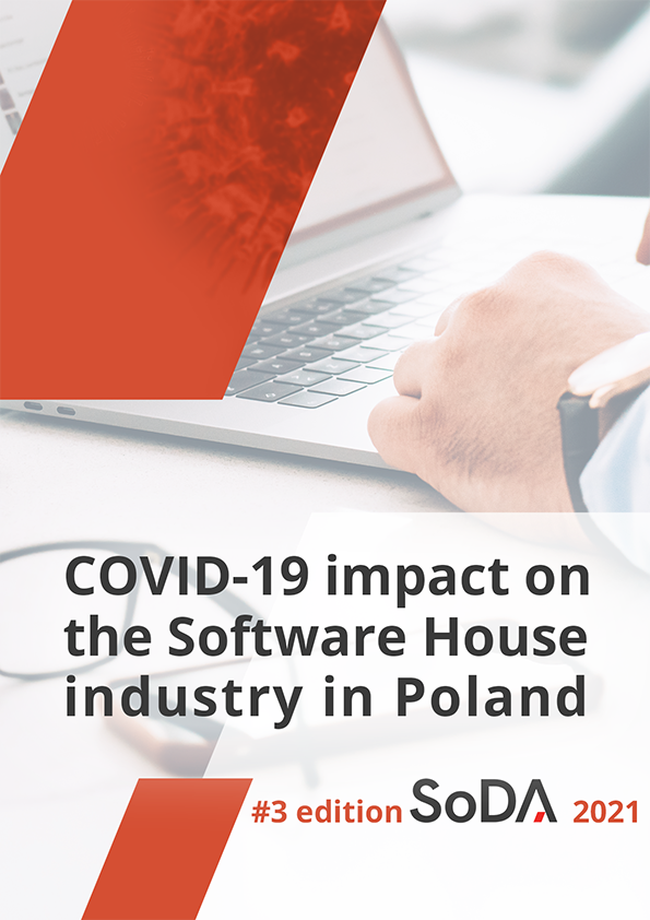 SoDA Report 2021 - COVID-19 impact on the software house industry in Poland